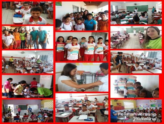 Lagoa Grande - Secretaria de Saúde realiza Semana Saúde na Escola