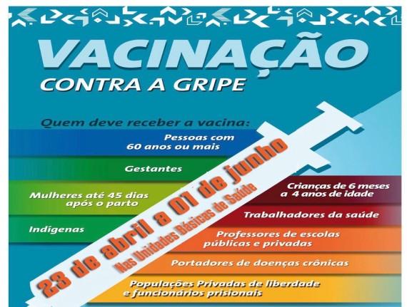 Prefeitura de Rosário prepara campanha de vacinação contra a…