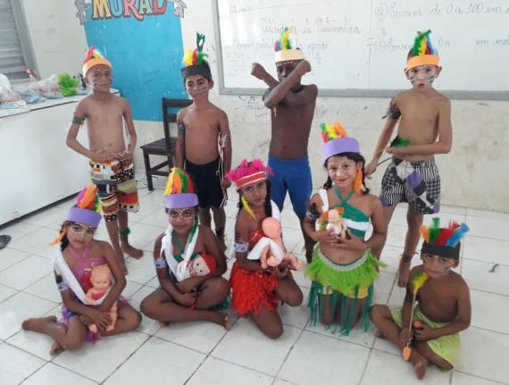 Dia do Índio é comemorado com muito aprendizado nas escolas…