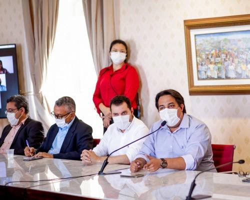 Secretário-geral da Famem, o prefeito João Igor, representou a entidade no evento de lançamento do Selo Unicef 2021