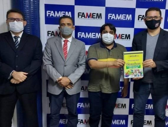 Famem discute parceria para campanha de prevenção às drogas no Maranhão