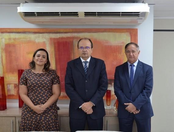 Djalma Melo apresenta no TCE pleitos da municipalidade maranhense