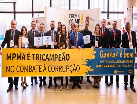 Presidente da Famem prestigia entrega do Prêmio CNMP em Brasília
