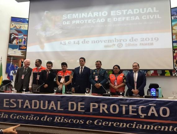 Evento discute criação da Defesa Civil nos municípios