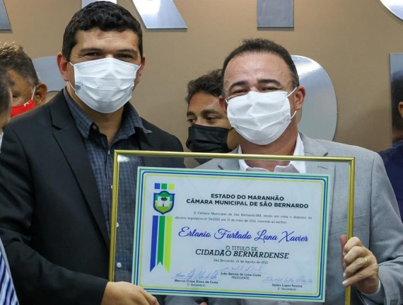 Presidente da Famem é homenageado com título de Cidadão Bernardense