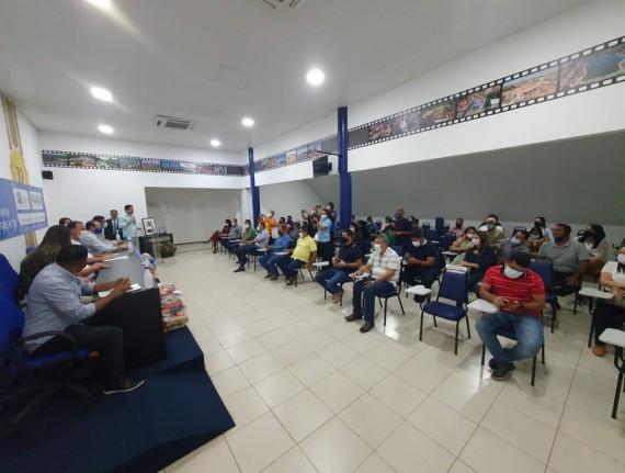 Em segunda etapa do programa 'Prato Cheio', Famem entrega mais 13 mil cestas básicas a municípios
