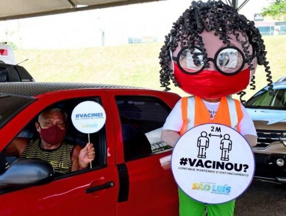 Prefeitura de São Luís orienta população vacinada para continuidade de medidas de proteção contra a Covid-19