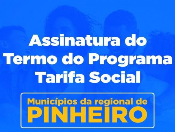 Adiada a assinatura do Termo do programa Tarifa Social em Pinheiro