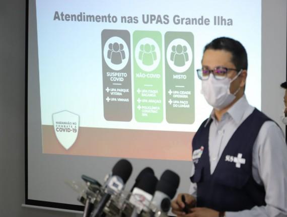 COVID-19: Novo fluxo para atendimento de casos suspeitos na Região Metropolitana