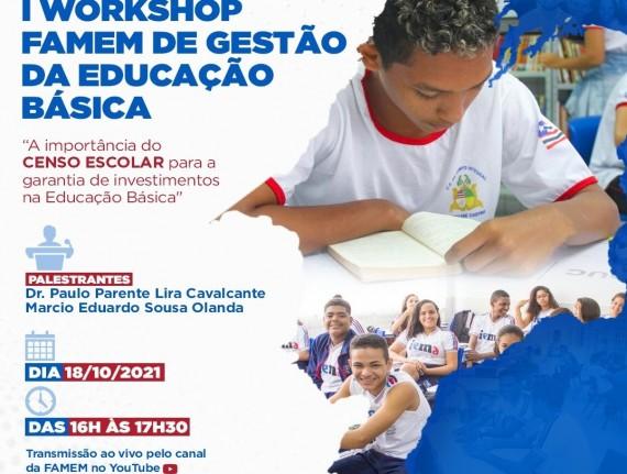 Famem promove workshop sobre gestão da Educação Básica