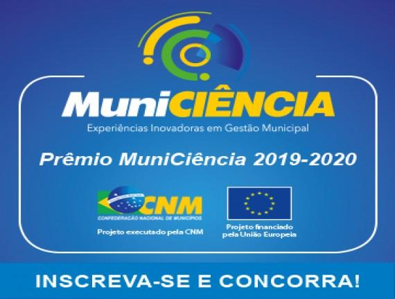 Prêmio Municiência recebe inscrições até 8 de julho