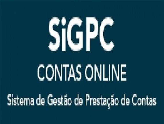 SIGPC - Contas Online Sistema de Gestão de Prestação de Contas (Contas Online)