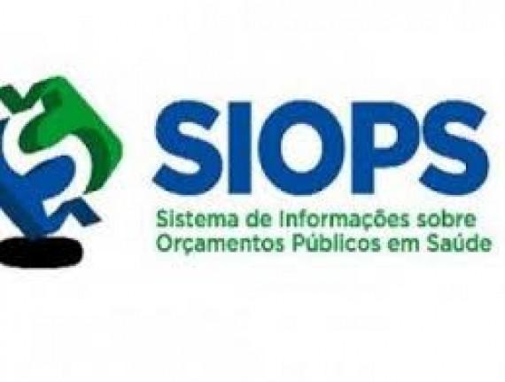 Ministério da Saúde disponibilizará o módulo do SIOPS para o 6º bimestre até 10/01/2019