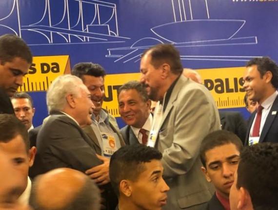 Cleomar Tema destaca como positivo encontro do presidente Temer com prefeitos