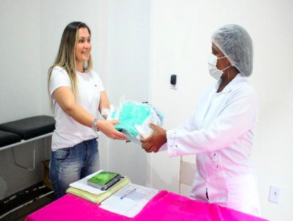 Prefeitura de Paço do Lumiar entrega de kits de proteção para Unidades Básicas de Saúde