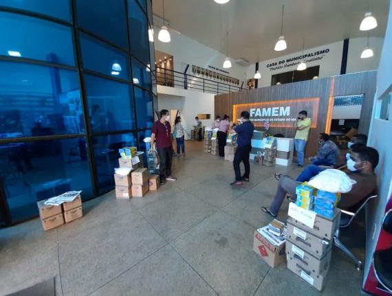 Famem anuncia critério de distribuição de EPIS e kits de higiene para municípios