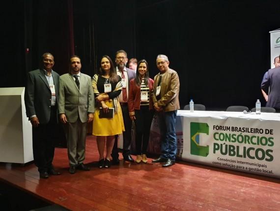 Consórcio Maranhão: presidente e corpo técnico da Famem participam de capacitação