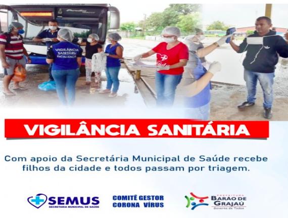 Barão de Grajaú adota barreira sanitária para receber trabalhadores vindos de outros estados
