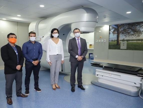 Secretaria de Estado da Saúde (SES)  firma contrato com o Hospital São Domingos para a realização de radioterapia e cirurgias especializadas