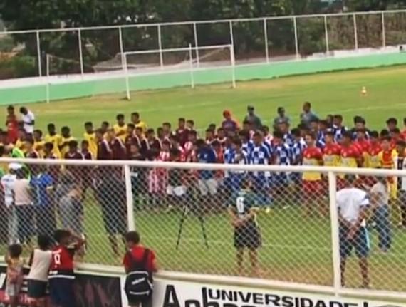 Abertura da 1ª Copa Interestadual da Juventude