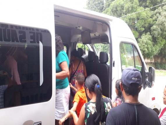 Prefeitura viabiliza transporte de pacientes em tratamento fora do domicilio
