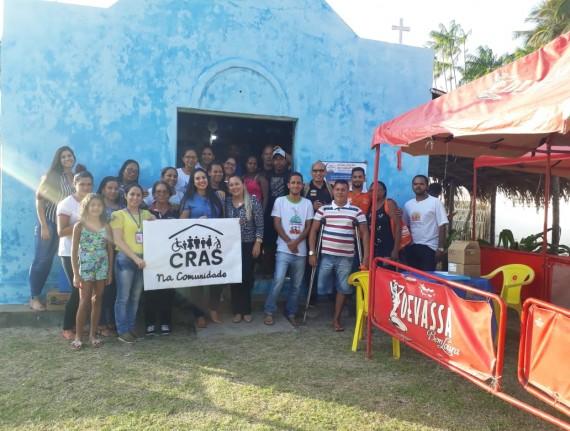 Guajerutiua recebe 4ª edição do Programa CRAS na Comunidade