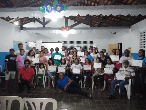 Prefeitura e Governo do Estado promoveram curso de formação…