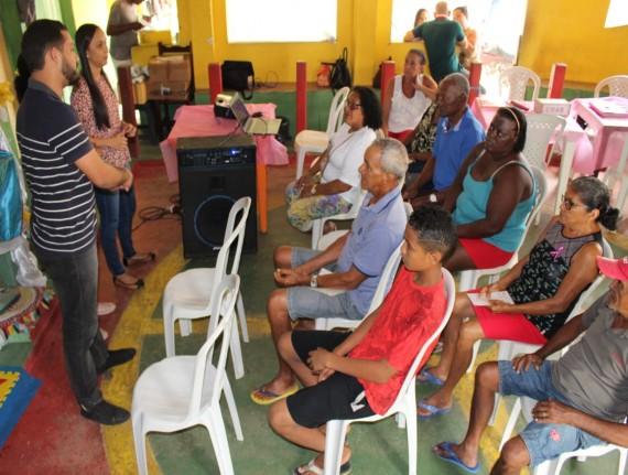 Projeto Cras na comunidade ocorreu na Sede de Guimarães