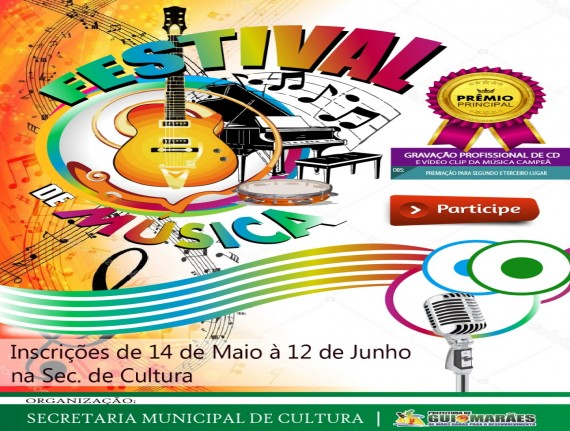 Faça sua inscricao no 1º Festival de Música de Guimarães