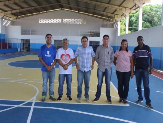 Prefeitura realiza melhorias no Ginásio Poliesportivo na sede do município