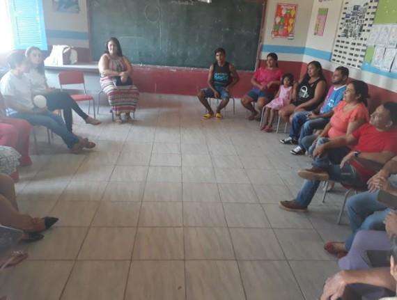 Em Água Doce, NASF realiza roda de Conversa sobre o tema Depressão com alunos pais e professores da…