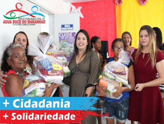 Prefeitura distribui cestas básicas para população carente de…