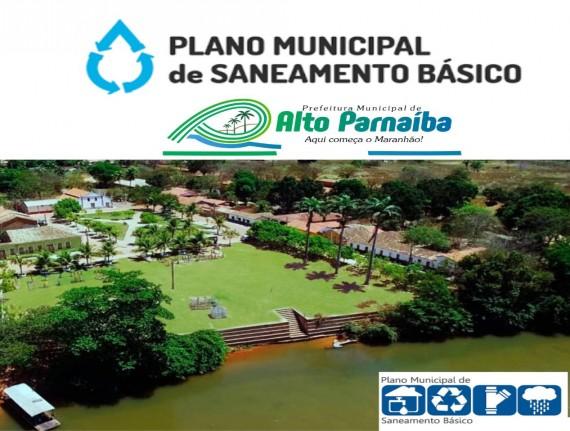 Plano Municipal de Saneamento Básico de Alto Parnaíba