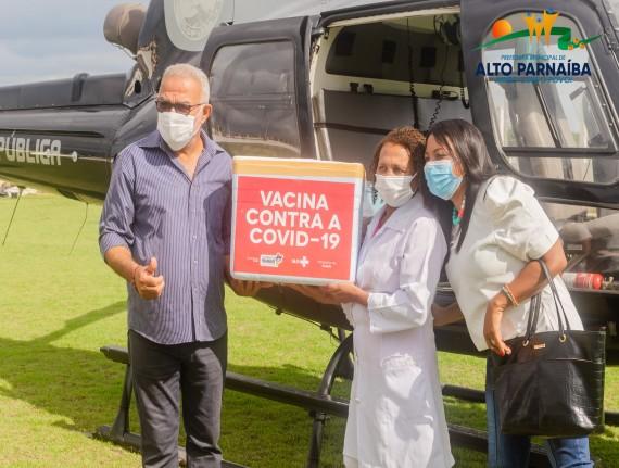 Prefeitura Municipal de Alto Parnaíba recebe Vacinas Covid 19