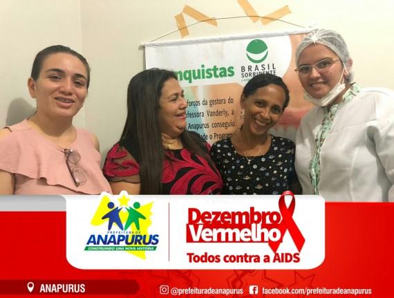 Secretaria de Saúde de Anapurus entrega próteses dentárias do programa Brasil Sorridente