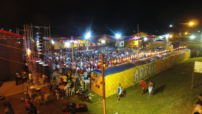 Um grande público presenciou Monique Pessoa e Tatinho do Acordeon na última noite do Arraial