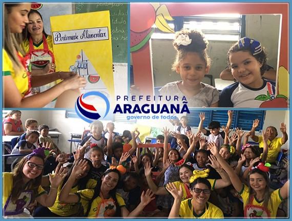 Educação alimentar nas escolas municipais de Araguanã