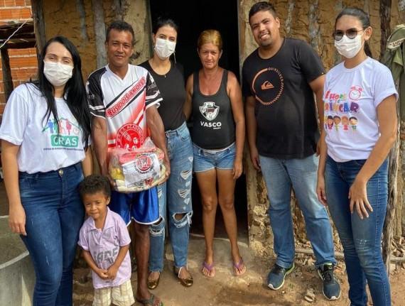 Prefeitura de Araioses realiza entrega de cestas básicas como parte do plano de combate ao COVID-19