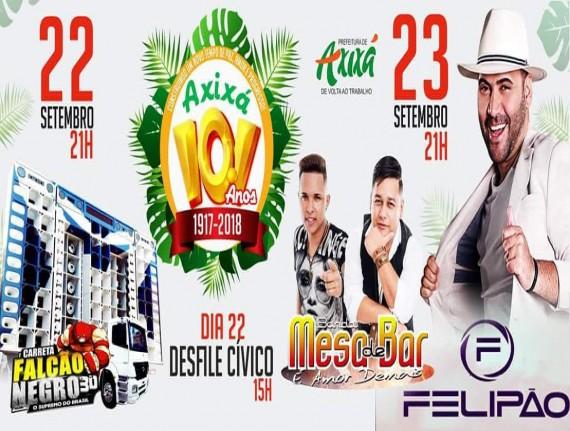 Axixá-MA, celebra aniversário da Cidade nos próximos dias 22…
