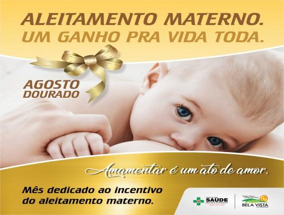 Mês Dourado - Campanha de incentivo a amamentação