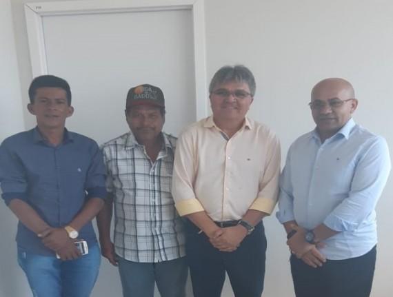 No INCRA, prefeito de Boa Vista do Gurupi busca respostas sobre…