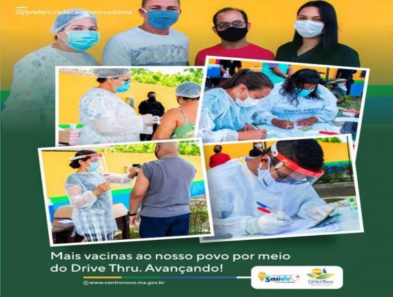 Secretaria de Saúde (SEMUS), promove Drive Thru e amplia número…