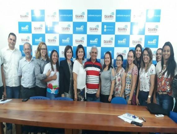 Representantes do CONASS se reúnem em Coelho Neto e discutem…
