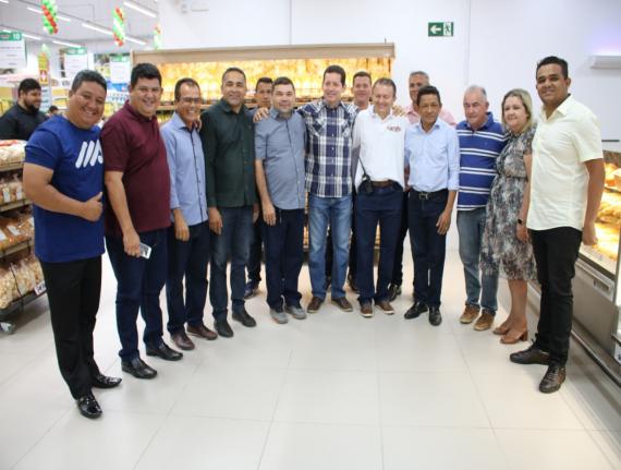 Prefeito Municipal de Coroatá prestigia inauguração de empresas…
