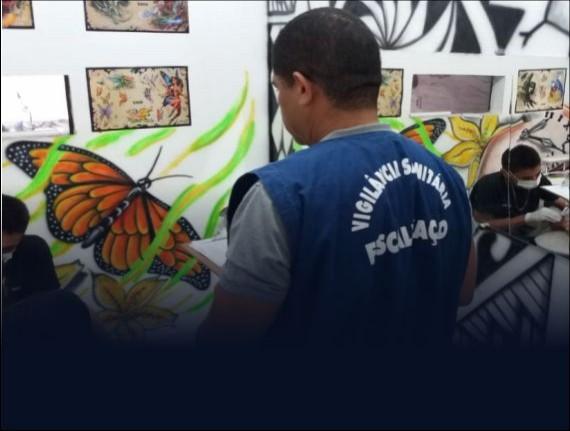 Vigilância Sanitária de Coroatá realiza inspesão em estúdios…