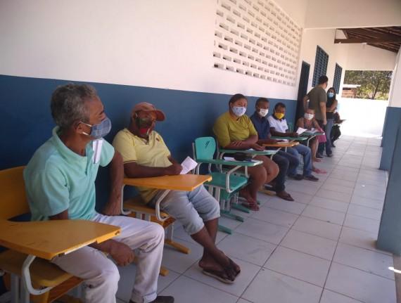 Secretaria Municipal de Saúde promove ação em saúde na zona…