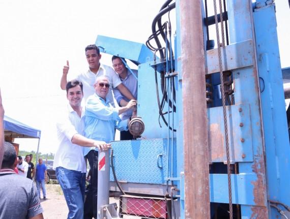 Prefeito Luís filho entrega novo poço do Eco Marajá I e II e…