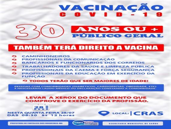 Campanha de Vacinação contra a Covid-19: Critérios e Grupos…
