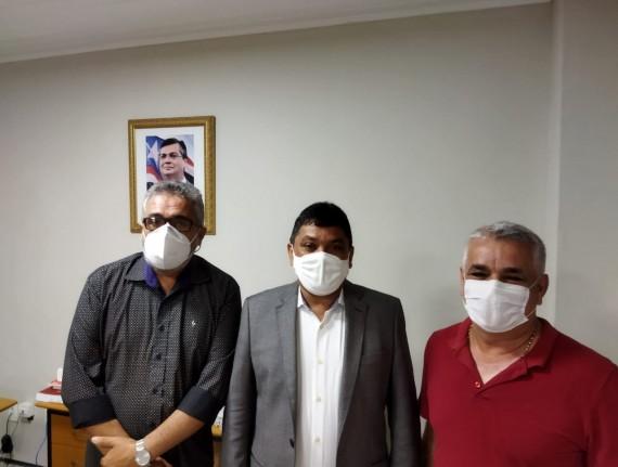 Pref Natan e ver Gesmar Nogueira é recebido pelo sec Márcio Jerry da secid.Breve novidades boas pra…