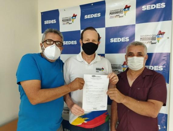 Prefeito Natan e vereador Gesmar Nogueira reivindica benefícios…